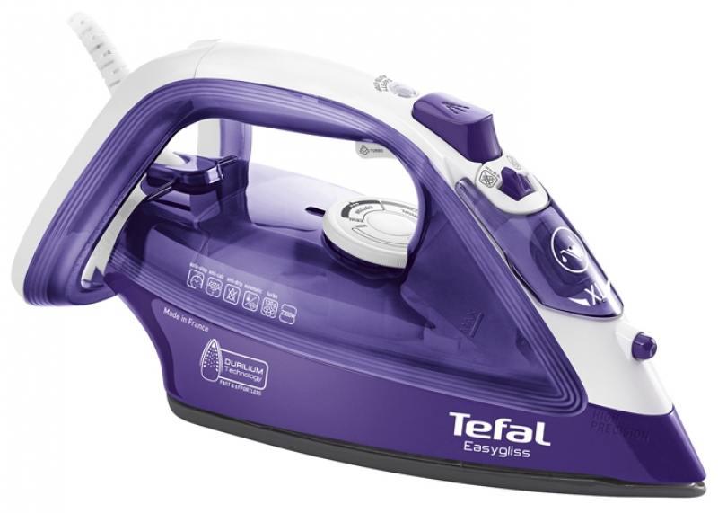 Утюг Tefal FV3930 2300Вт фиолетовый [FV3930E0] утюг tefal turbo pro fv5630e0