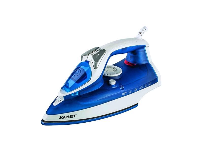 Утюг Scarlett SC-SI30E01 2400Вт синий