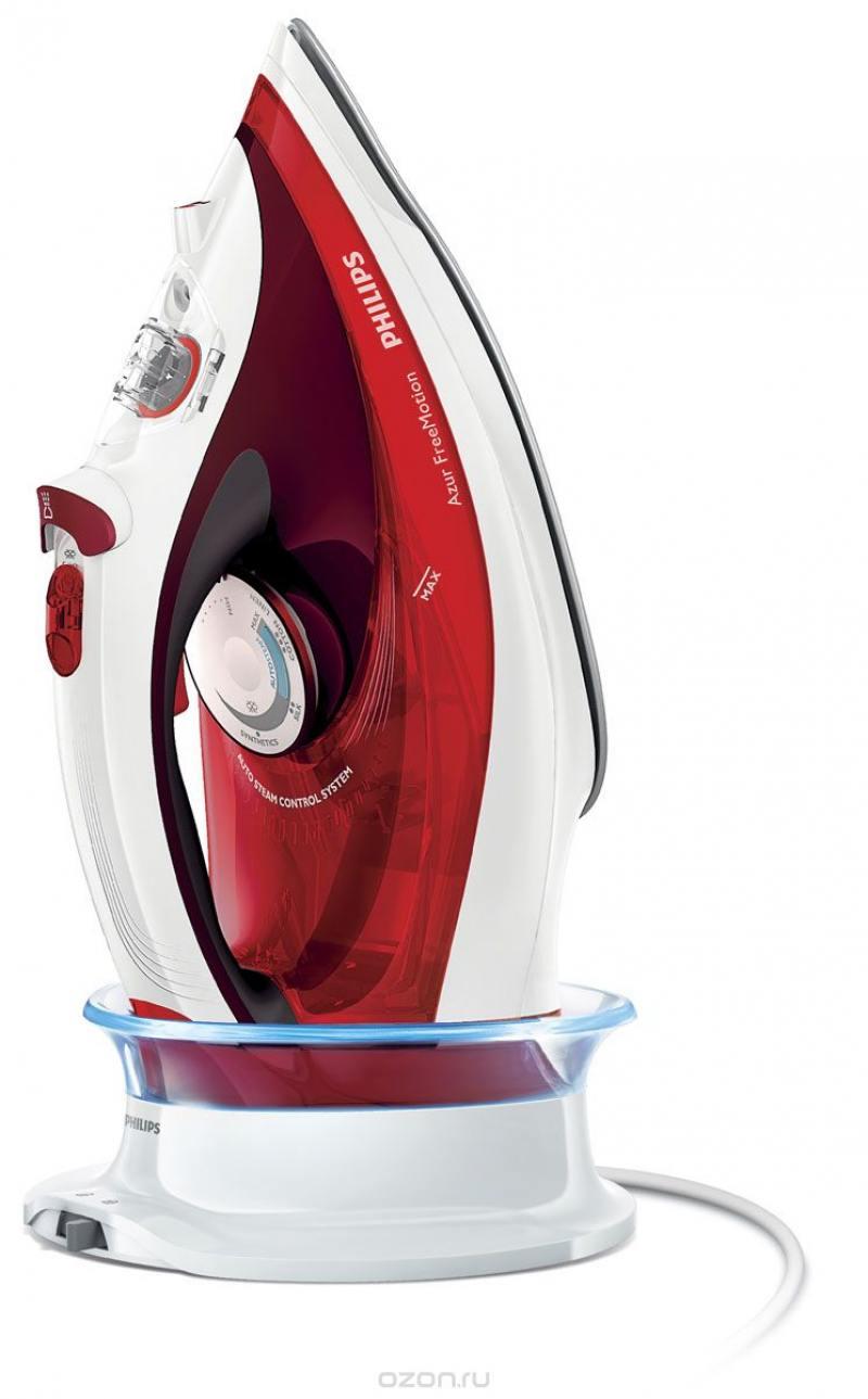 Утюг Philips GC4595/40 красный белый 2600Вт утюг philips perfectcare xpress gc5050 02 отзывы