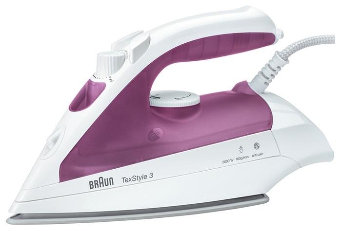 Утюг Braun TS 320 C 2000Вт фиолетовый цена и фото
