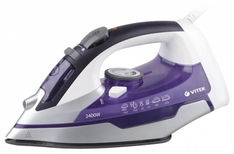 Утюг Vitek 1257(VT) 2400Вт фиолетовый
