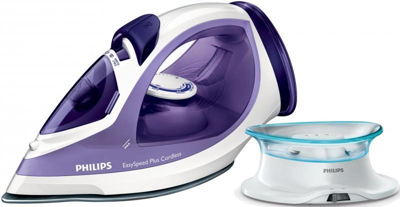 Утюг Philips EasySpeed GC2088/30 2400Вт фиолетовый белый утюг philips gc4506 20 2400вт белый