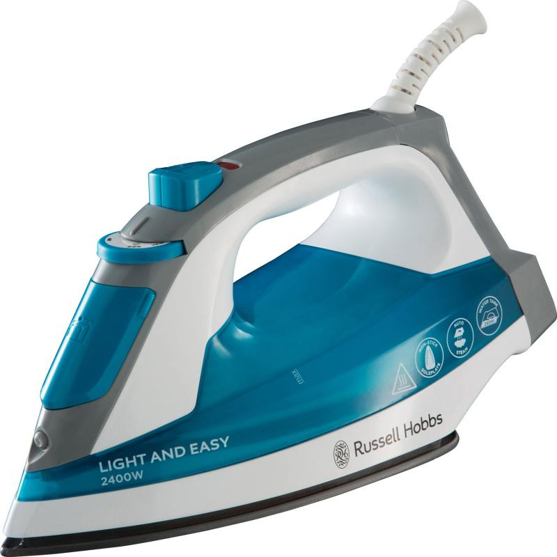 Утюг Russell Hobbs Light Easy 23590-56 2400Вт синий белый утюг russell hobbs light easy 23590 56 2400вт синий белый