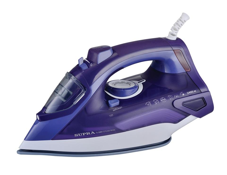 Утюг Supra IS-2401 2400Вт фиолетовый