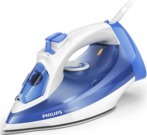 Утюг Philips GC2990/20 белый синий 2300Вт philips she 3590wt белый