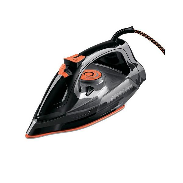 Утюг Redmond RI-C252 2200Вт черный оранжевый утюг redmond ri c257