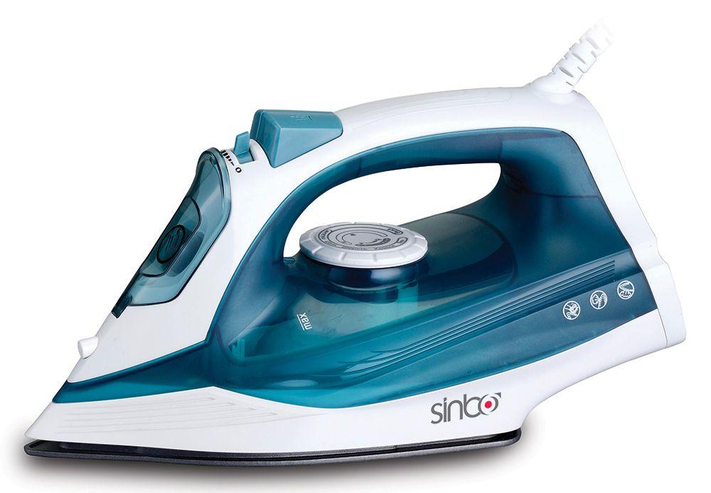 Утюг Sinbo SSI 6604 2400Вт синий белый утюг sinbo