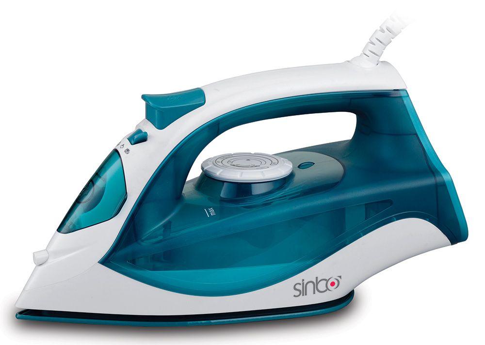 Утюг Sinbo SSI 6603 2200Вт синий белый утюг sinbo