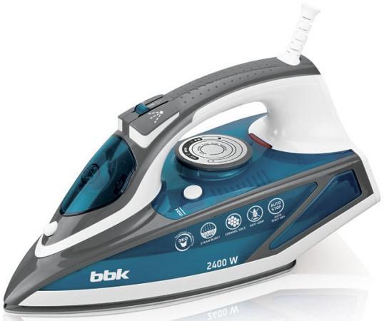 Утюг BBK ISE-2402 2400Вт синий