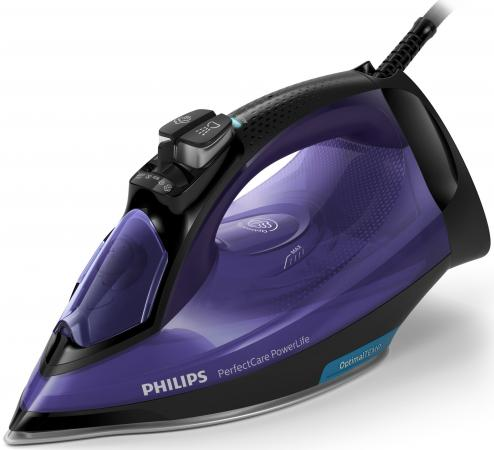 лучшая цена Утюг Philips GC3925/30 2500Вт синий черный