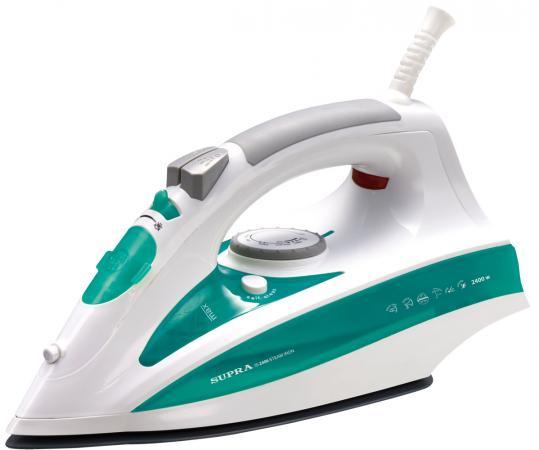 Утюг Supra IS-2406 2400Вт белый зеленый