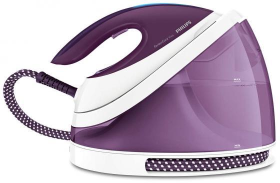 Парогенератор Philips GC7051/30 фиолетовый 2400Вт парогенератор philips hi5912 30 белый фиолетовый 2400вт