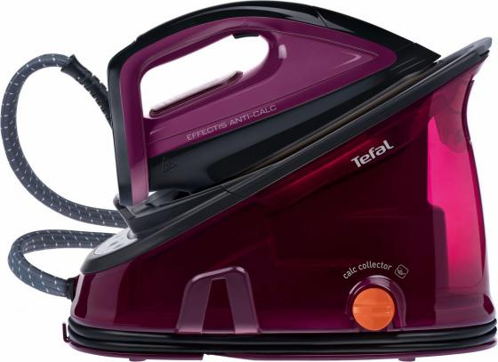 Утюг Tefal GV6820E0 2200Вт черный/фиолетовый утюг tefal fv2548e0 2200вт фиолетовый