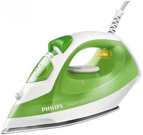 Утюг Philips GC1426/70 Featherlight Plus, зеленый 1400Вт philips powerlife plus gc2980 70 white green утюг