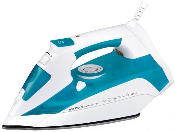 Утюг Supra IS-2206 2200Вт белый синий