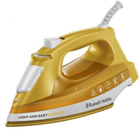 Утюг Russell Hobbs 24800-56 2400Вт желтый кухонный комбайн russell hobbs 19005 56 19005 56