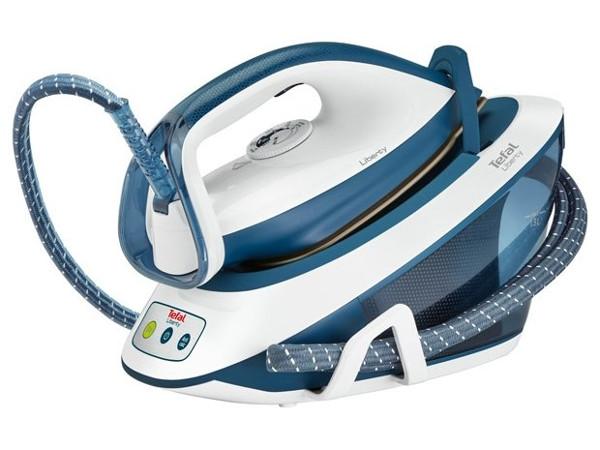 Утюг Tefal SV7020E0 2200Вт синий белый утюг tefal fv2548e0 2200вт фиолетовый