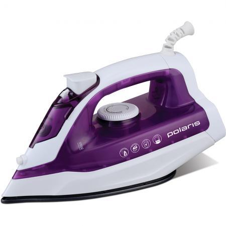 Утюг Polaris PIR 1876 1800Вт белый фиолетовый утюг sinbo ssi 6602 фиолетовый белый