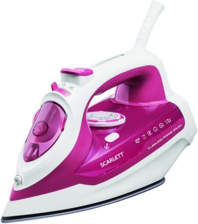Утюг Scarlett SC-SI30K28 2400Вт розовый утюг scarlett sc si30p04