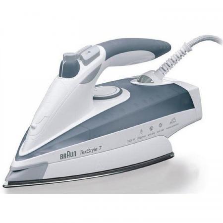 Утюг Braun TS775ETP 2400Вт серый/белый утюг braun