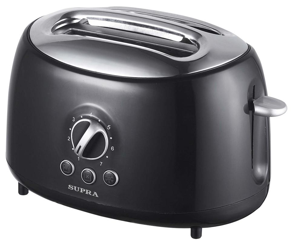 Тостер электрический SUPRA TTS-216 black тостер supra tts 355