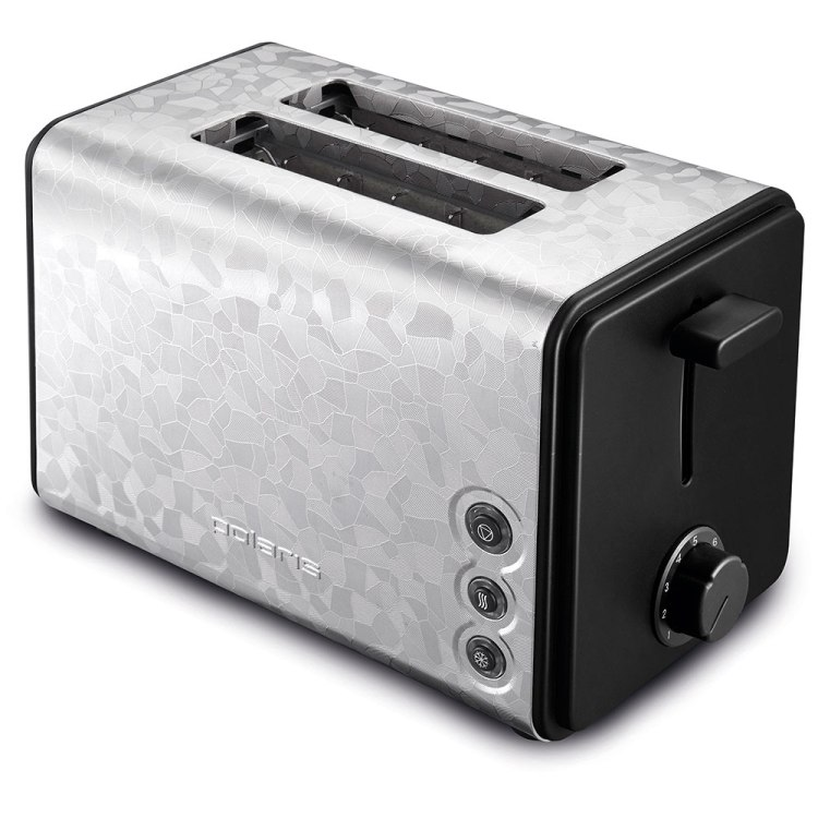 Тостер POLARIS PET 0909 Crystal электрич., Черный тостер polaris pet 0702lb