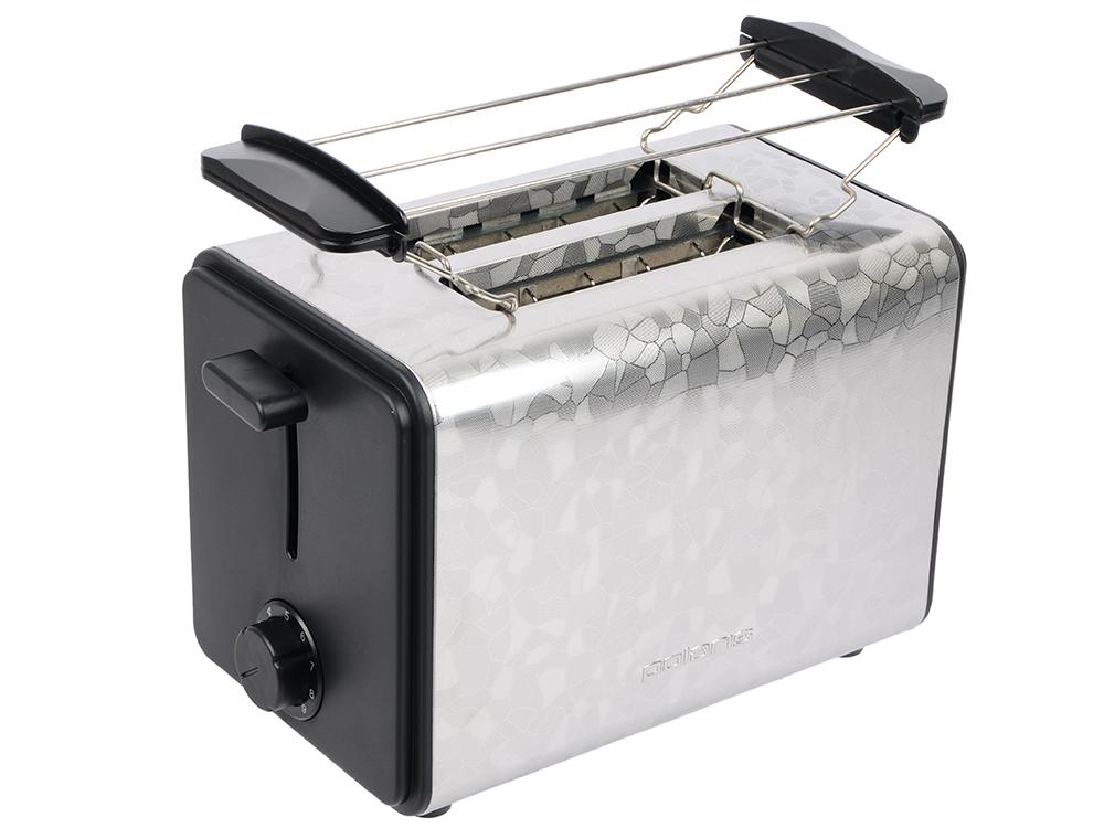 Тостер POLARIS PET 0909 Crystal электрич., Черный тостер bork t703ch