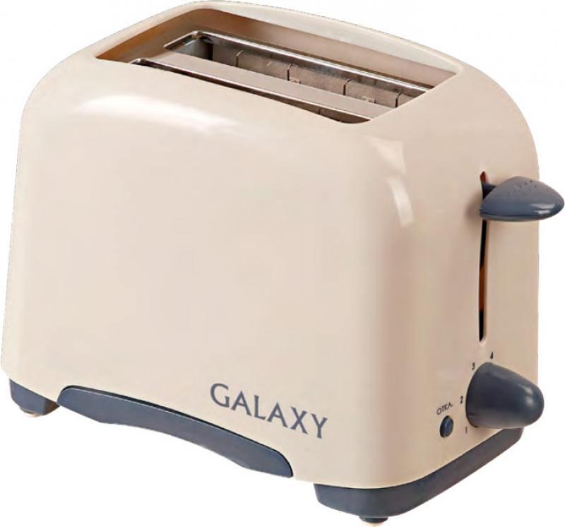 Тостер GALAXY GL2901 бежевый