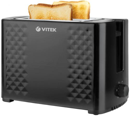 Тостер Vitek VT-1586 BK черный кофеварка vitek vt 1502 bk черный