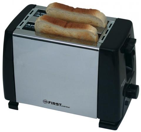 5366-CH Тостер FIRST, 750 Вт, 2 тоста, рег.поджаривания first 5366
