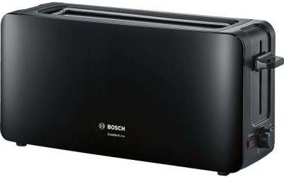 Тостер Bosch TAT 6A003 черный тостер bosch tat 8613