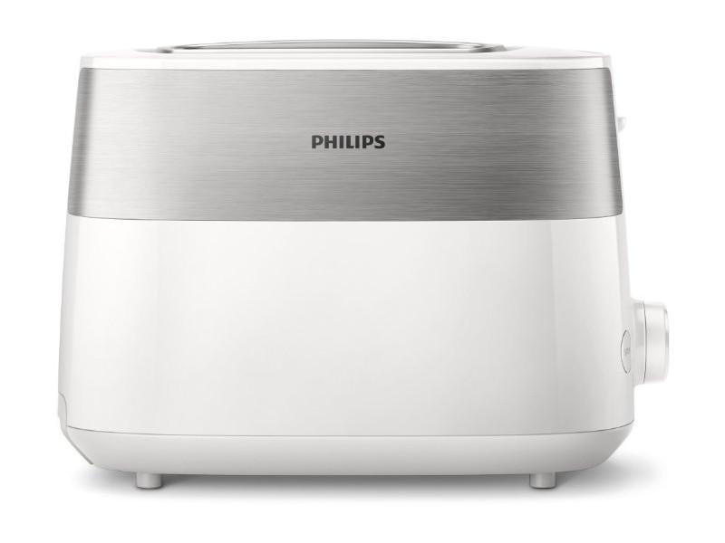 Тостер Philips HD2515/00 830 Вт, 8 настроек, 2, белый
