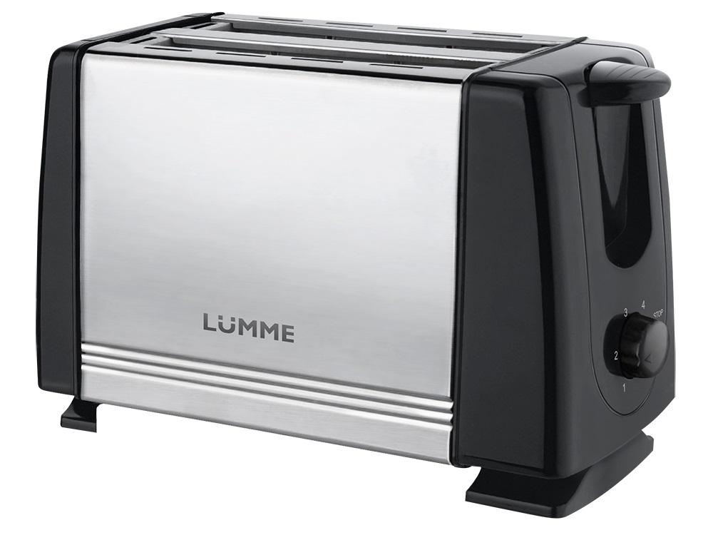 Тостер Lumme LU-1201 черный жемчуг фен lumme lu 1042 черный жемчуг