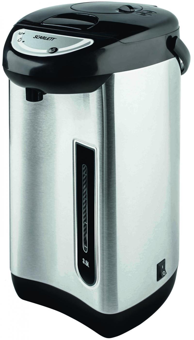 Термопот Scarlett SC-ET10D01 750 Вт 3.5 л нержавеющая сталь чёрный scarlett sc et10d01 black