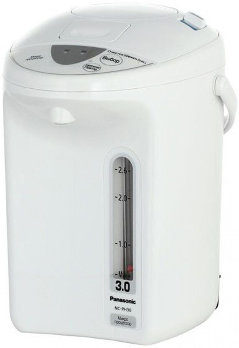 Термопот Panasonic NC-PH30ZTW 700 Вт белый 3 л пластик