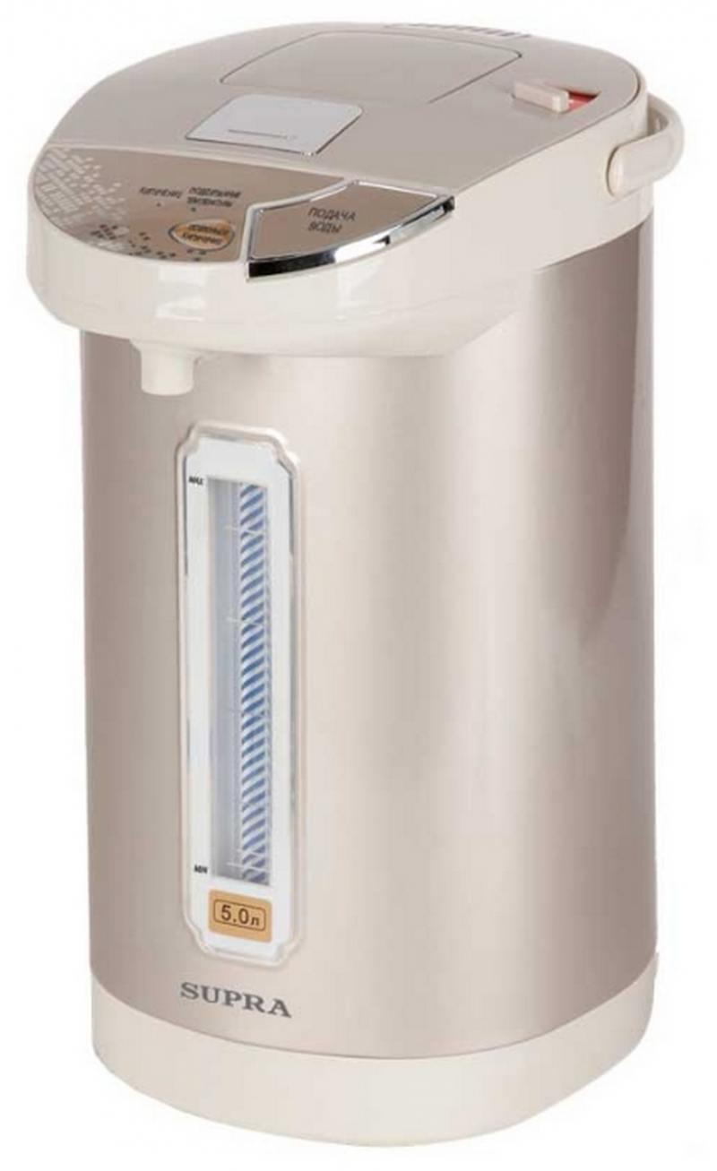 Термопот Supra TPS-3010 900 Вт шампанское 5 л металл чайник термос supra tps 3010