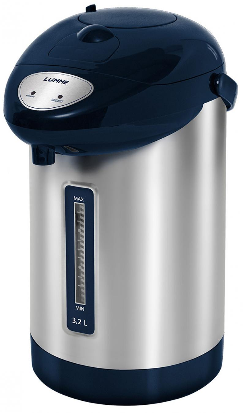 Термопот Lumme LU-296 900 Вт синий сапфир 3.2 л металл