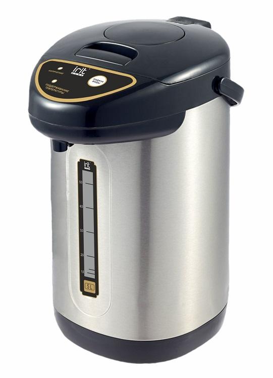 Термопот Irit IR-1418 750 Вт, 5 л термопот supra tps 3016 730 вт 4 2 л металл серебристый