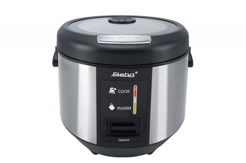 Рисоварка Steba RK 3 700 Вт 3.5 л серебристый черный
