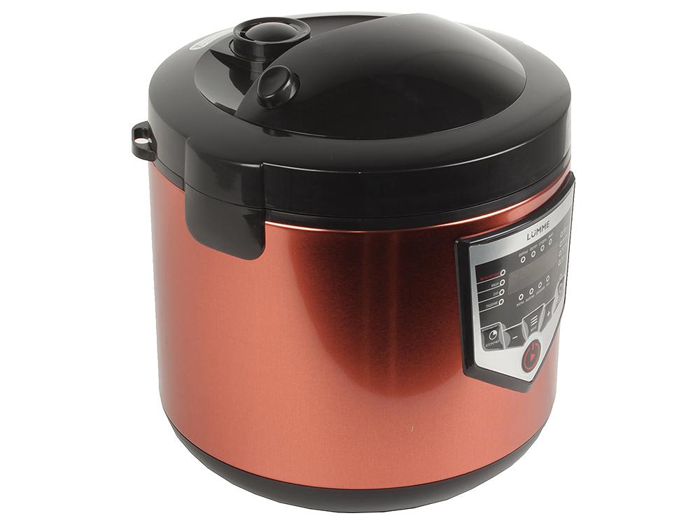 Мультиварка Lumme LU-1446 860 Вт 5 л дымчатая яшма мультиварка polaris pmc 0559d кофе 860 вт 5 л