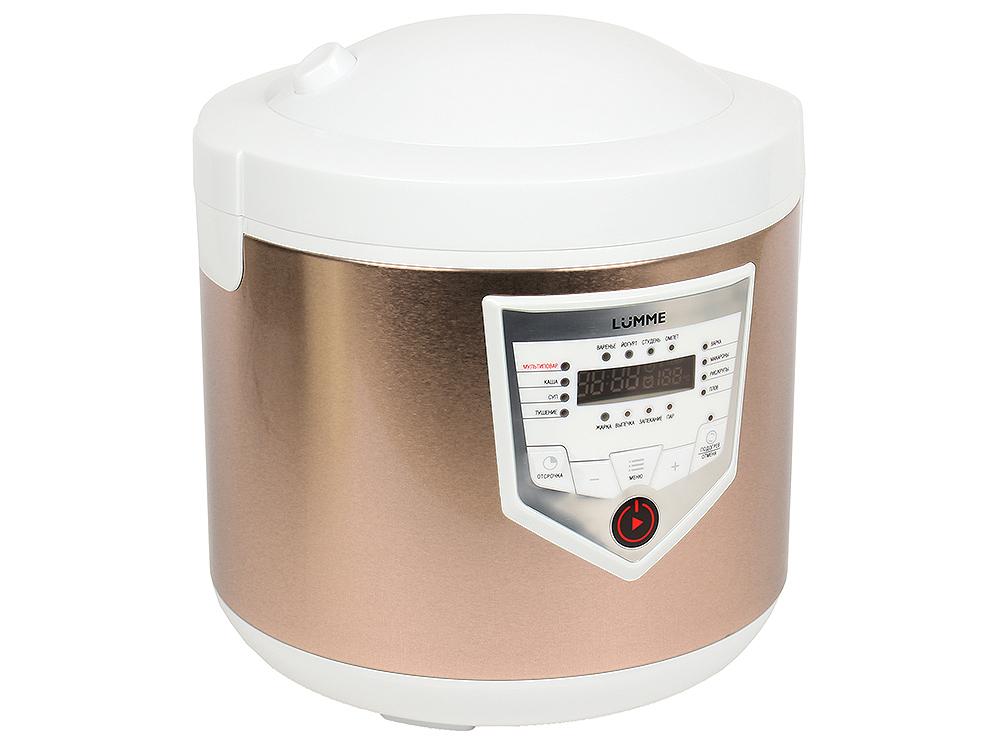 Мультиварка LUMME LU-1446 CHEF PRO белый/шампань