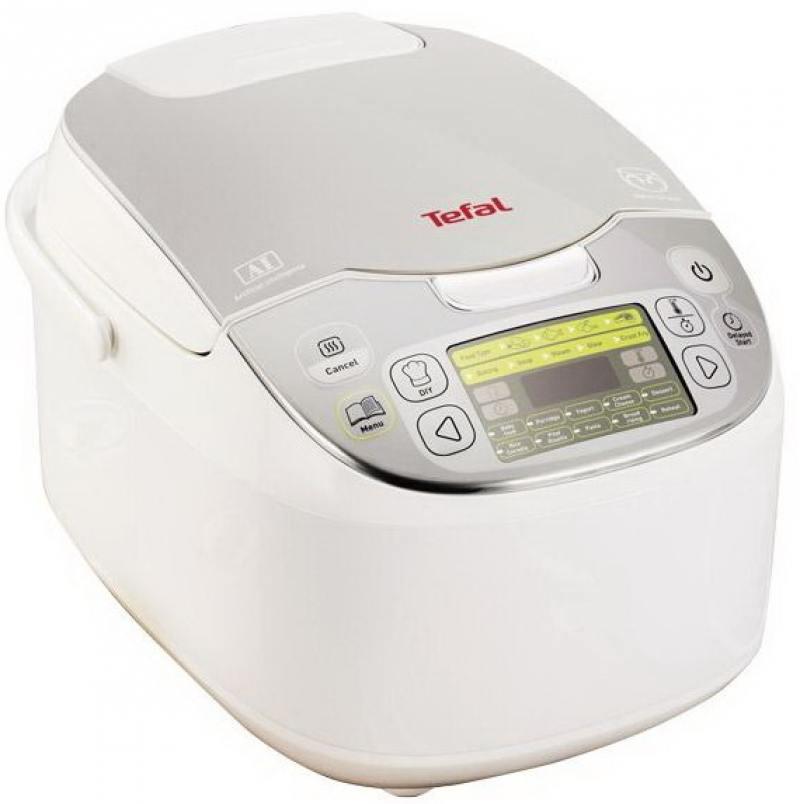 Мультиварка Tefal RK816E32 750 Вт 5 л белый мультиварка polaris pmc 0559d кофе 860 вт 5 л