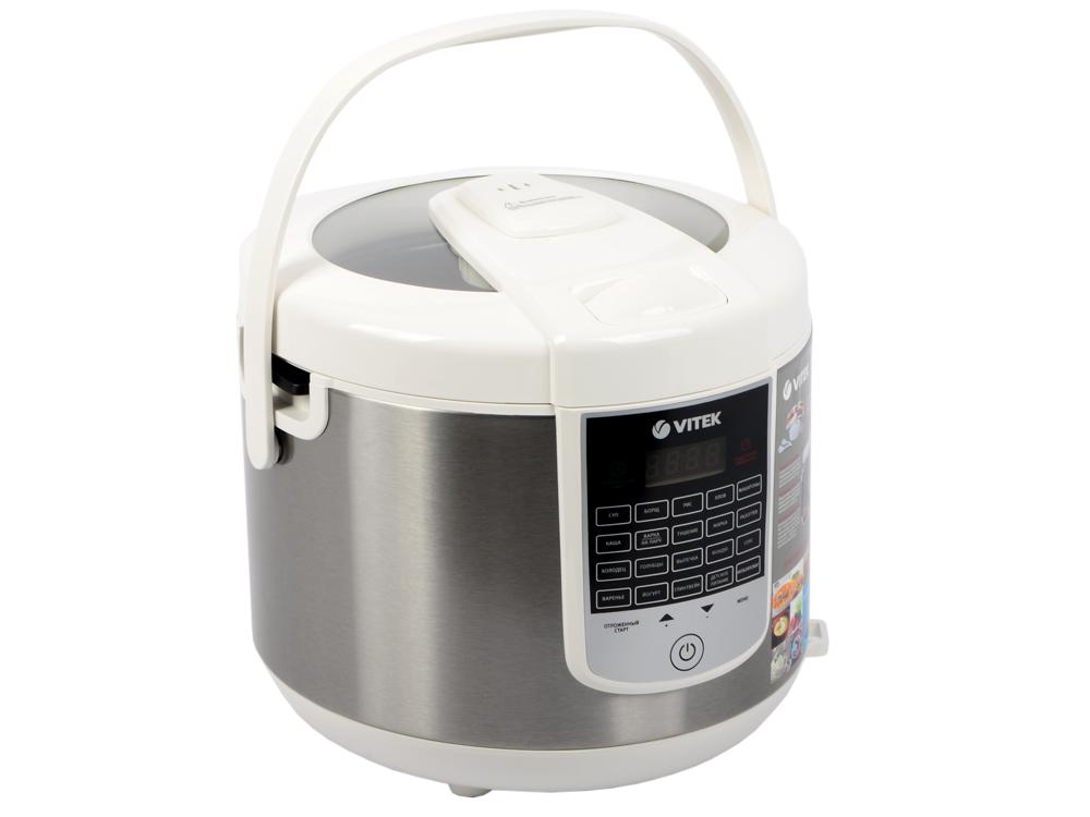 Мультиварка Vitek VT-4273 W 900 Вт 5 л белый мультиварка polaris pmc 0559d кофе 860 вт 5 л