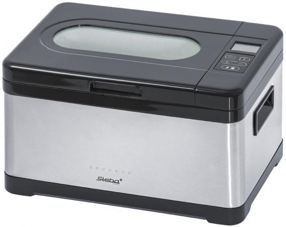 Медленноварка Steba SV 2 800 Вт 8 л серебристый мультиварка steba dd 2 basic серебристый черный красный 900 вт 5 л
