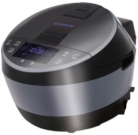 Мультиварка ENDEVER Vita 100 1300 Вт 5 л черный серебристый мультиварка steba dd 2 basic серебристый черный красный 900 вт 5 л