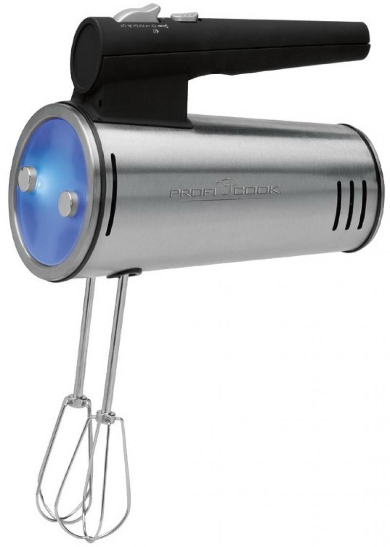 Миксер ручной Profi Cook PC-HM 1026 300 Вт серебристый