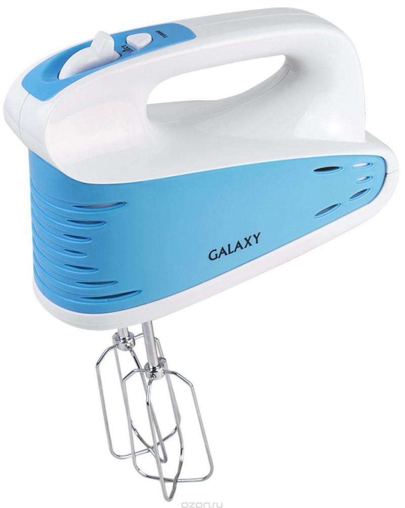 Миксер ручной GALAXY GL2208 300 Вт голубой миксер ручной supra mxs 301 300вт белый