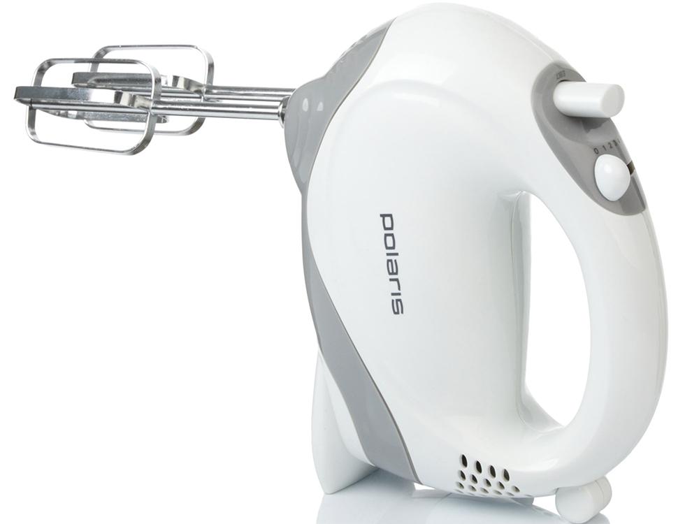 Миксер Polaris PHM 2010 150Вт белый/серый