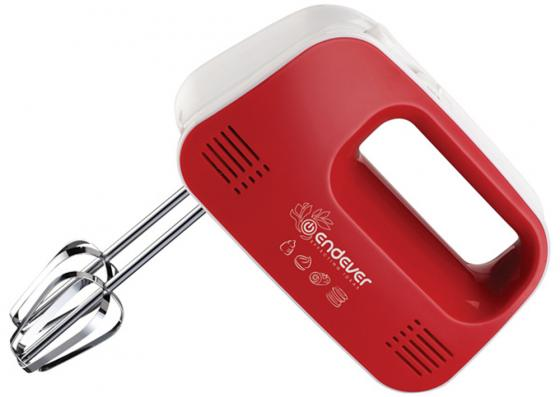 Миксер ручной ENDEVER Sigma-04 красный 250 Вт