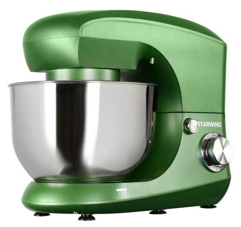 Миксер стационарный Starwind SPM5185 1000Вт зеленый стационарный